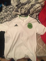 Mexico Addidas jersey color:white, size: small in Vacaville, California
