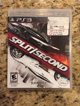 Split Second - PS3 Game in Yorkville, Illinois