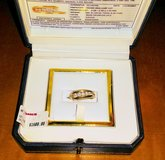 REDUCED!!!5 stone 14k gold diamond band in Chicago, Illinois