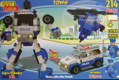 Best Lock Town Police 214 Pieces Building Block Toy in Orland Park, Illinois
