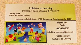 Needed Substitute Childcare Teacher for in home childcare in Naperville, Illinois