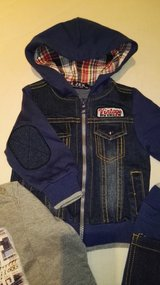 *New 3 piece denim set from Italy, 3-6 months* in Ramstein, Germany