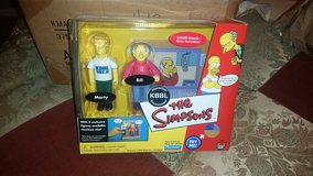 The Simpsons~ Bill and Marty Interactive Action Figure Playset in CyFair, Texas