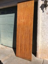 "Stained 30"" x 8' by 3/4""  wood shelf in Alamogordo, New Mexico"