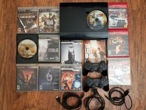 Ps3 with games in Barstow, California