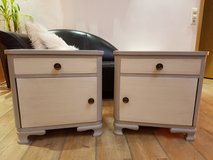 2 Matching Shabby Chic Nightstands in Baumholder, GE