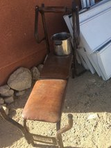 Weight bench and weights what you see what you get in 29 Palms, California
