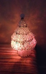 Hand Made Miniature Beaded Christmas Tree in Conroe, Texas