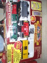 LARGE TRAIN SET/WHISTLES/SMOKES/REMOTE in Morris, Illinois