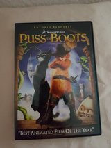 Puss In Boots DVD in Ramstein, Germany