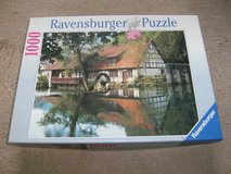 "Ravensburger Puzzle ""Watermill"" in Ramstein, Germany"