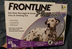 Frontline Plus Dogs  45-88 lbs 3 pack in Houston, Texas