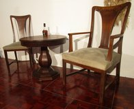 Antique Late 1800s Parlor Set : 2 Chairs and a Table in Ramstein, Germany