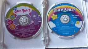 2 Care Bear DVDS in Clarksville, Tennessee