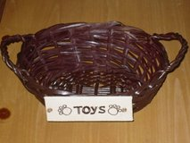 sm. pet toy basket in Oswego, Illinois