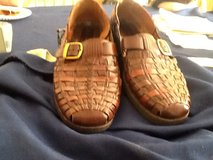 Stacy Adams mens  Brwn size 10 leather in Plainfield, Illinois