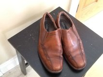 Mens Slip ons Clarks size 11M in Plainfield, Illinois