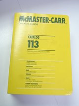 McMaster Carr Catalog 113 Chicago Illinois in Aurora, Illinois