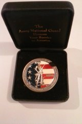 Army National Guard service coin in Fort Campbell, Kentucky