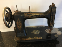 Beautiful Vintage White Rotary Sewing Machine in Bartlett, Illinois