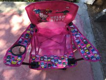 Girls folding Chair in Camp Lejeune, North Carolina
