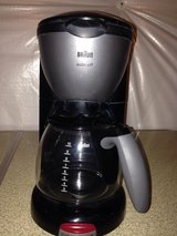 Braun black and grey 10 cup coffee maker in Quantico, Virginia