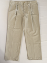 46x32 Timber Creek by Wrangler Perfect Pleated Beige Pants in Bartlett, Illinois