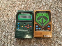 Retro football and baseball hand held game in Naperville, Illinois