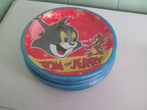 Tom and Jerry Paper Plates(Hallmark) in Lockport, Illinois