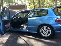 For sale 1993 Honda Civic Hatchback with an upgrade engine swap form an Acura Integra. in Moody AFB, Georgia