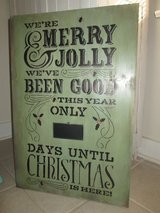 Wooden Christmas Sign (REDUCED!) in Camp Lejeune, North Carolina