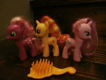 3 My little pony figurines set in Kingwood, Texas
