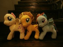 my little pony plush complete 6 set in Kingwood, Texas