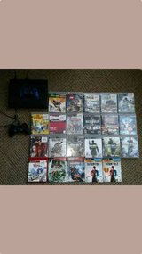 PS3 w/ HDMI Cable, 2 controllers and 22 Games in Camp Lejeune, North Carolina