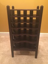 Antique Dark Wood Record Holder in Elizabethtown, Kentucky