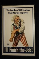 Reproduction Uncle Sam Official Poster in Fairfax, Virginia