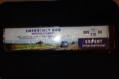 New unopened Required European Emergency Bag for Vehicles in Fairfax, Virginia