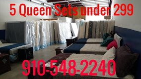 Nobody sales for less ! NEW MATTRESS SETS 99.00 in Cherry Point, North Carolina