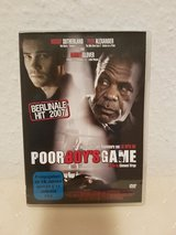 Poor Boy's Game German DVD in Ramstein, Germany
