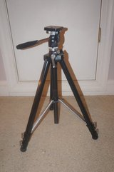SEARS 8232 Camera Tripod with Carrying/Storage Case in Camp Lejeune, North Carolina