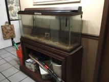Full Fish Tank Aquarium 55 gallon in Houston, Texas