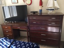 Vintage Desk and dresser set by B.P John 1966 in Camp Pendleton, California