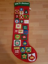 Advent Calendar Stocking in Ramstein, Germany