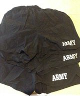 New Set of 3 Black Army exercise shorts - Med in Quantico, Virginia
