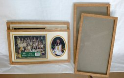 "New Oak Wood Picture Frames 10""x18"" (4 available) in Warner Robins, Georgia"