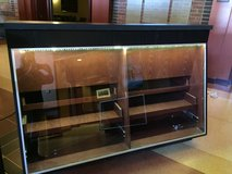 LARGE LIGHTED DISPLAY CASE WITH STORAGE in Aurora, Illinois