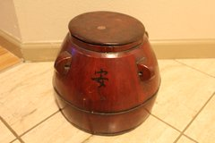 Wooden Soy Sauce Container in Travis AFB, California