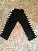 Boys Black and White Athletic Pants-Medium-Champro-GUC in Aurora, Illinois