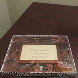 """Wooden Hand-Carved """"Aloha"""" photo frame in Kingwood, Texas"""