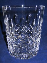 WATERFORD CRYSTAL LISMORE Pattern 3 Old Fashioned Glasses in Aurora, Illinois